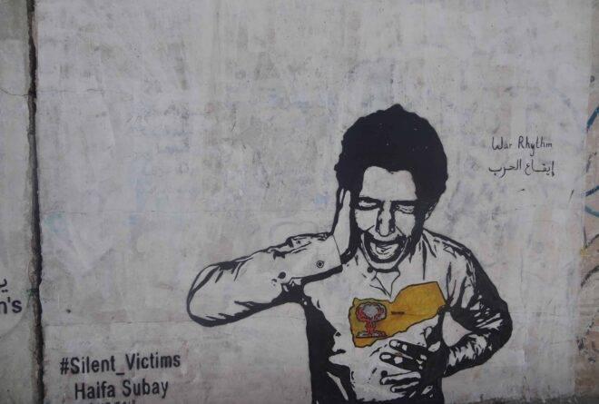 جداريات هيفاء سبيع.. رسم اليمني الذي طحنته الحرب!