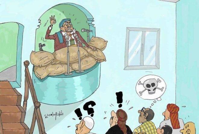 كاريكاتير: التسامح المذهبي في مساجد اليمن!