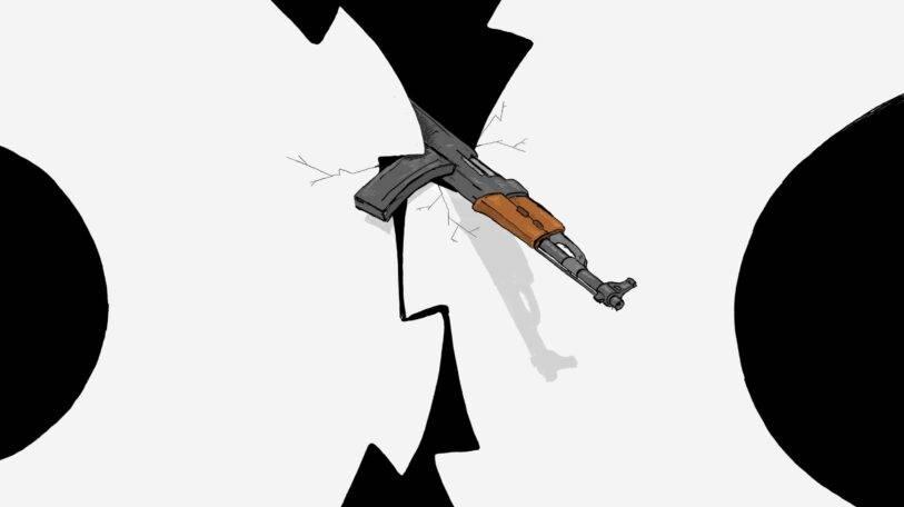 كاريكاتير | هل توقف الاشتباكات عجلة السلام؟