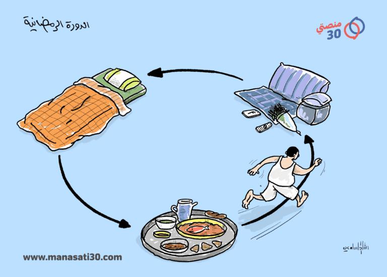 دورة الحياة اليومية للصائم اليمني في رمضان