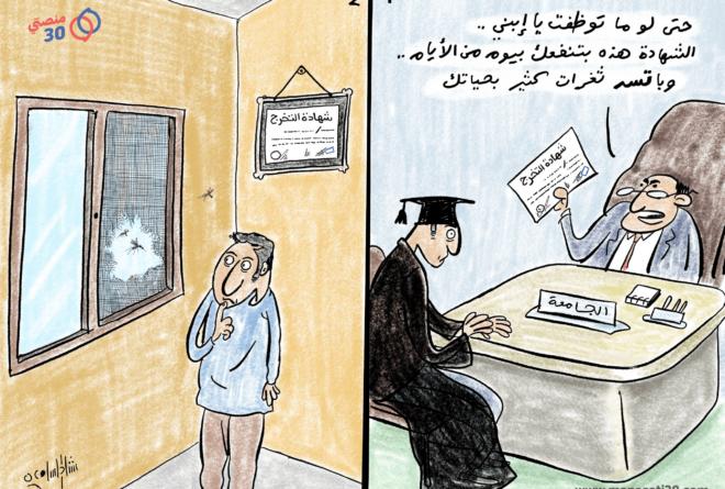 كاريكاتير | شهادة سد ثغرات!