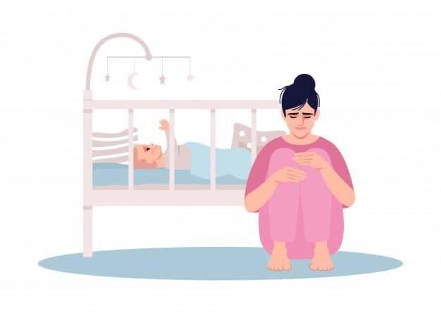 اكتئاب ما بعد الولادة- وكيفية التعامل معه