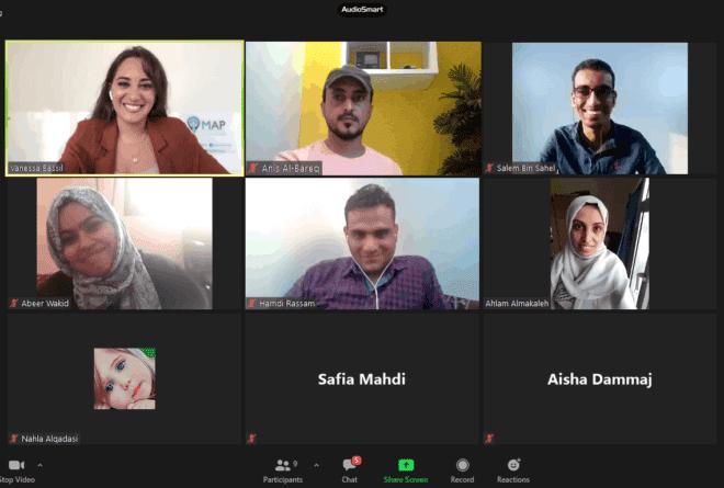 تدريب صحفيات وصحفيين يمنيين على صحافة السلام