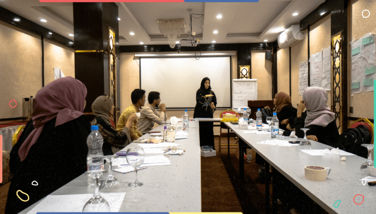 تدريب صحافة السلام في عدن