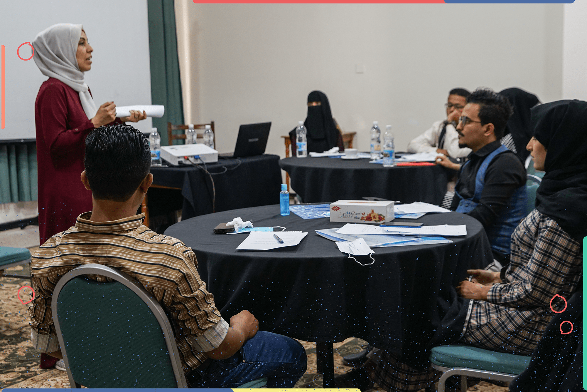 تدريب صحافة السلام في تعز-7