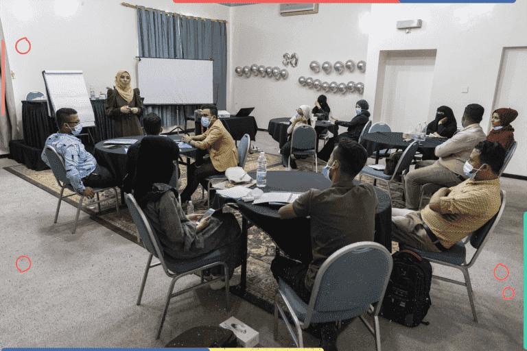 تدريب صحافة السلام في تعز