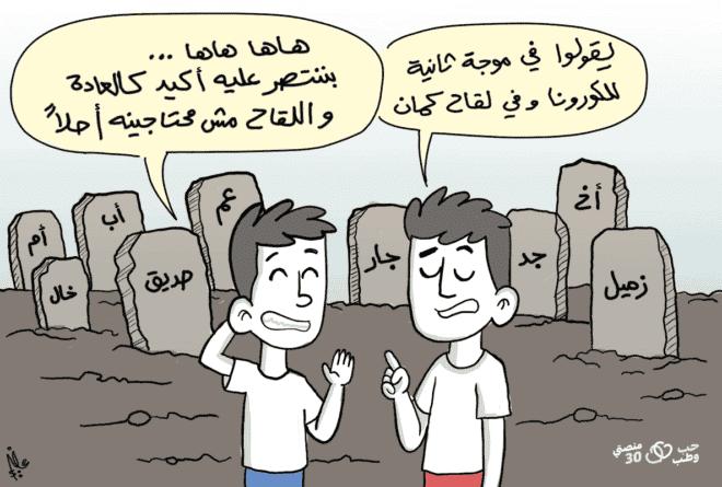 كاريكاتير | لقاح كورونا محل ثقة أم شك؟