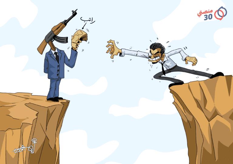 جبهات الصراع اليمن راتب