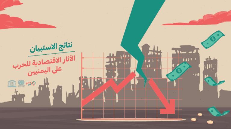 استبيان الآثار الاقتصادية للحرب