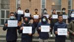 اعتصام-لطلاب-يمنيين-في-الخارج